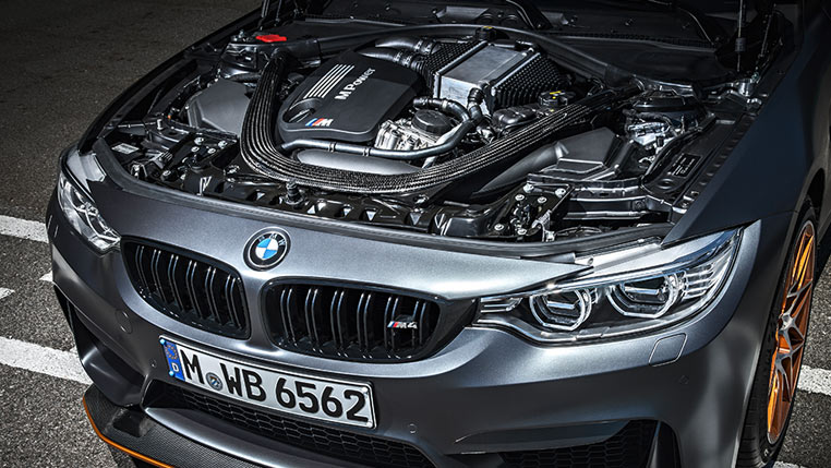 BMW M4 GTS engine bay