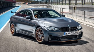 2016 BMW M4 GTS on race track