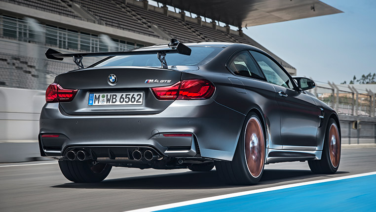 BMW M4 GTS rear view