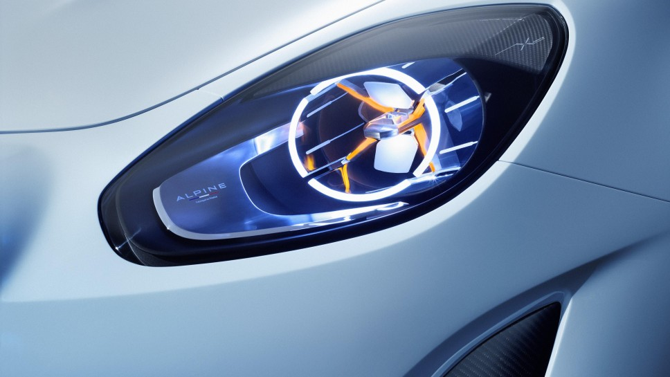 Alpine Vision Concept headlamp