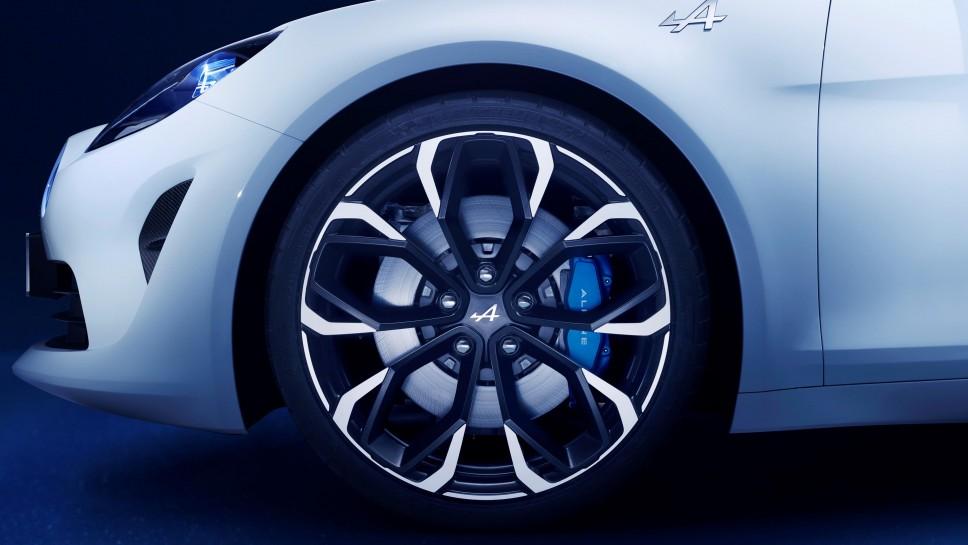 Alpine Vision Concept wheel