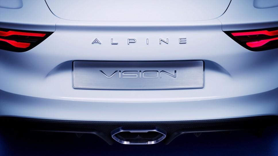 Alpine Vision Concept exhaust